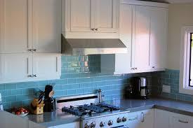 kitchens with glass tile backsplash blue glass tile backsplash brilliant kitchen room design images of