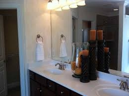 Bathroom Counter Towel Holder Bathroom Top Countertop Four Metal Towel Holder Square Mirror With