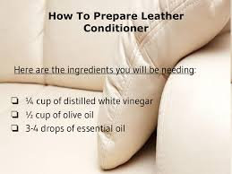 How To Clean A Leather Sofa by Best 25 Leather Conditioner Ideas Only On Pinterest Homemade