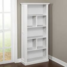 Bookcase With Doors White Industrial Bookcases Birch