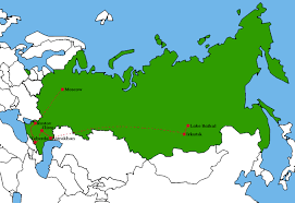 Siberia On World Map by Want Expeditions Home