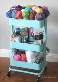 Raskog Cart Ikea Raskog Crochet Cart Repeat Crafter Me