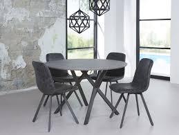 Esszimmertisch Ebay Julian Runder Esstisch Esszimmertisch Tisch ø 120 Cm Beton Dekor
