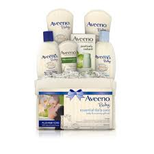 daily cleansing eczema baby skin care aveeno aveeno baby essential daily care gift set