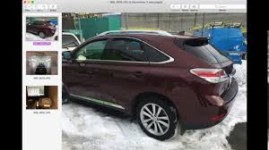 lexus rx denver tom u0027s custom autobody 2016 lexus rx350 body repair youtube