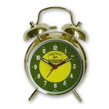 John Deere Bedroom Furniture by John Deere Twin Bell Alarm Clock Logo Rungreen Com
