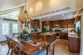 country dining room with triangle window u0026 door molding in lake