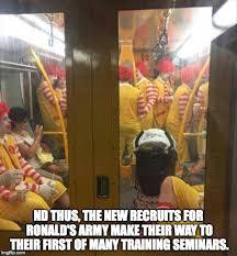 Ronald Mcdonald Meme - ronald mcdonald train blank template imgflip