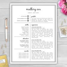 Unique Resumes Templates Best 25 Creative Resume Design Ideas On Pinterest Cv Design