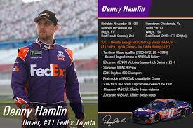 fedex richmond ky fedex racing denny hamlin every day is race day
