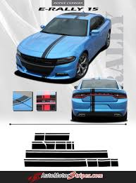 2015 2017 dodge charger e rally euro style vinyl graphics racing