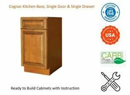 kitchen base cabinets ebay details about cognac kitchen base cabinet single drawer single door