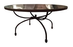 pottery barn willow antiqued coffee table chairish