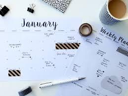 printable january 2016 weekly planner beautiful free printable calendar 2016 templates design