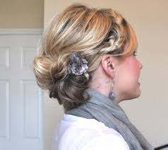 how to updo hairstyles for medium length hair the braided bun u2013 the small things blog