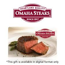 omaha steaks gift card buy omaha steaks gift cards at giftcertificates