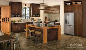 wood stained kitchen cabinets the popularity of wood stains merillat