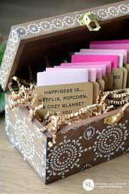 wedding gift box ideas date gift card box 12 pre planned date ideas for two