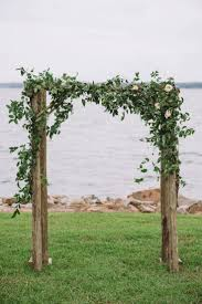 Wedding Arches Pics Romantic Lakeside Navy And Blush Wedding Rustic Signs Outdoor