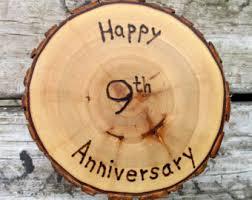 ninth anniversary gift ninth anniversary etsy