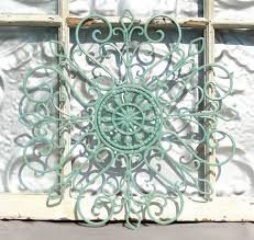 wrought iron garden wall art modern style home design idea shabby