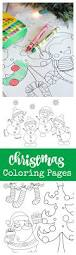 free printable christmas coloring pages crazy little projects