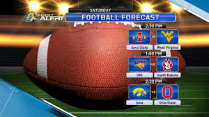 Iowa travel forecast images College football forecast png