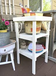 diy beverage station u0026 summer patio decor little vintage nest