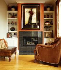 tiled fireplace surround living room traditional with crown
