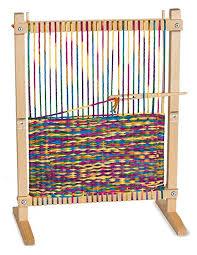 melissa doug wooden multi activity play table amazon com melissa doug wooden multi craft weaving loom extra
