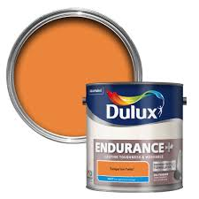 dulux endurance tangerine twist matt emulsion paint 2 5l