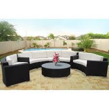 Wayfair Patio Furniture Furniture Modway Portico Piece Outdoor Patio Sectional Set