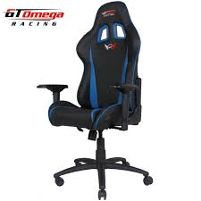 Blue Leather Chair Gaming Seats Gt Omega Pro Racing Office Chair Black Next Blue
