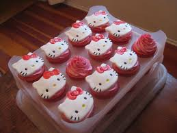 pixie crust hello kitty cupcakes