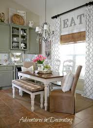 eat in kitchen ideas 15 ways to add to any of window high curtains