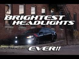 brightest hid lights for cars brightest hids for your car youtube