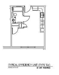 Efficiency Apartment Floor Plans Woodland Park Apartments Nmu Housing And Residence Life