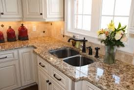 giallo ornamental granite with white cabinets giallo ornamental