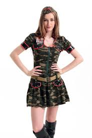 wholesale 2016 new womens halloween party camouflage