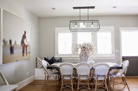 beautiful dining area with walls painted benjamin moore gray owl