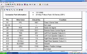 pontiac grand prix radio wiring diagram with blueprint 4327