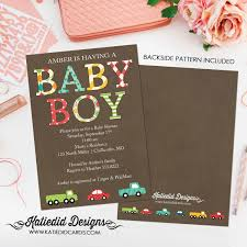 transportation birthday party package diy printable for boy car