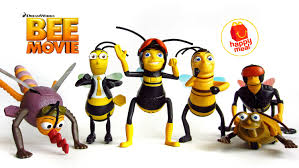 mcdonald u0027s bee movie 2007 happy meal toys complete