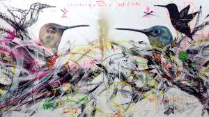 Spray Paint Artist - colorful abstract birds by spray paint artist l7m u2013 cube breaker
