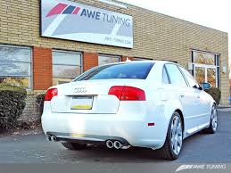 awe b7 s4 exhaust awe tuning exhaust system b7 audi s4