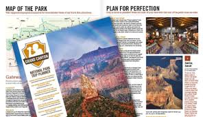 Grand Canyon National Park Map Free Grand Canyon Trip Planning Kit My Grand Canyon Park