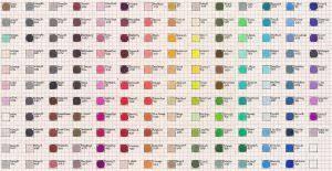 prismacolor pencils 150 prismacolor 150 premier colored pencil chart by transientart on