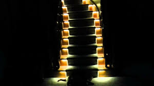 Stair Lighting Classic Led Stair Lights Ideas To Decorate Led Stair Lights
