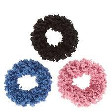 hair scrunchies denim wash soft hair scrunchies s us