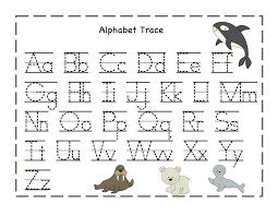 best ideas of free printable tracing letters and numbers
